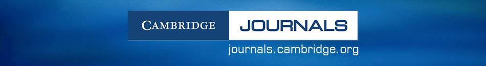 Cambridge Journals - journals.cambridge.org