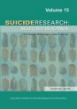 Suicide Research: Selected Readings Volume 15
